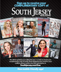 South Jersey Magazine Complimentary Subscription